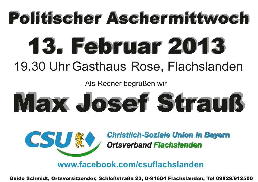 CSU-Aschermittwoch 2013-1