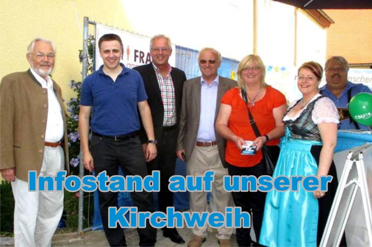 Kirchweih Flachslanden 2013