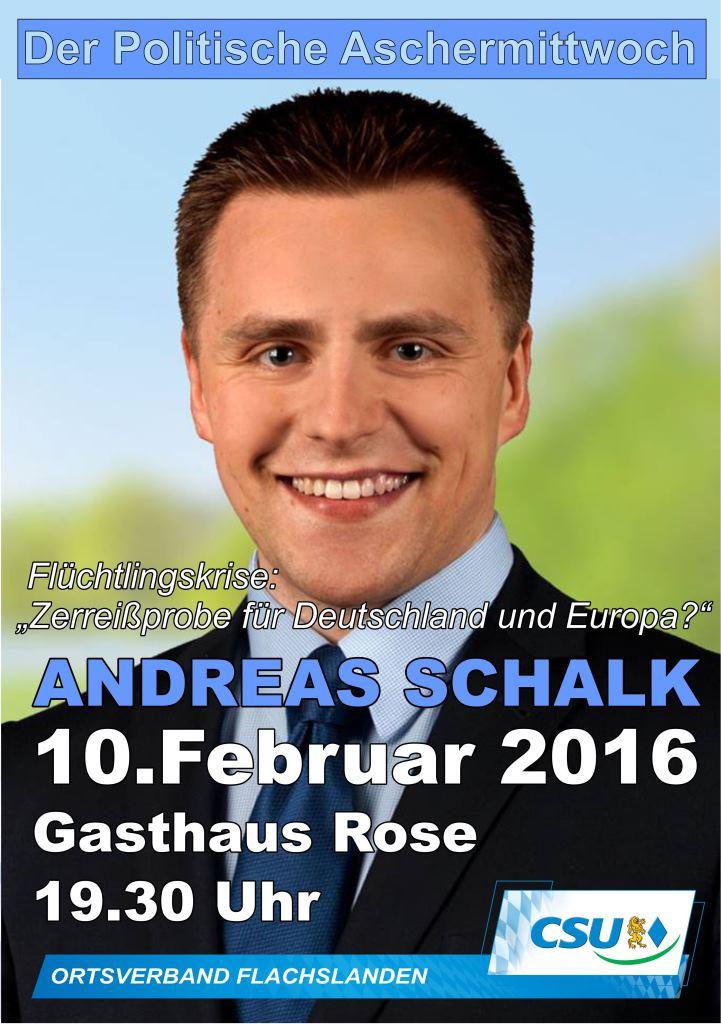 Politscher Aschermittwoch 2016