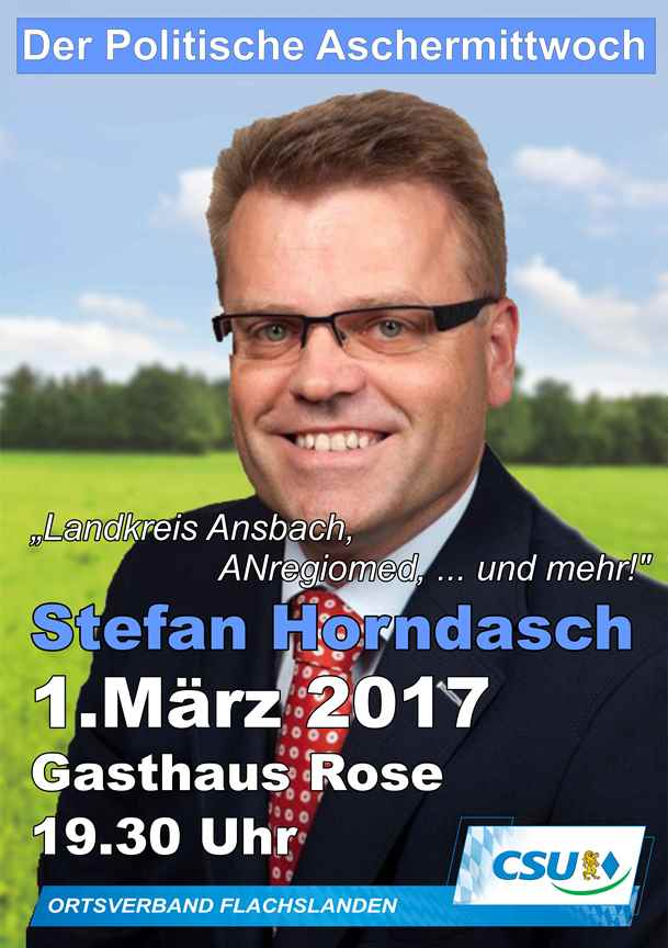 Politscher Aschermittwoch 2017