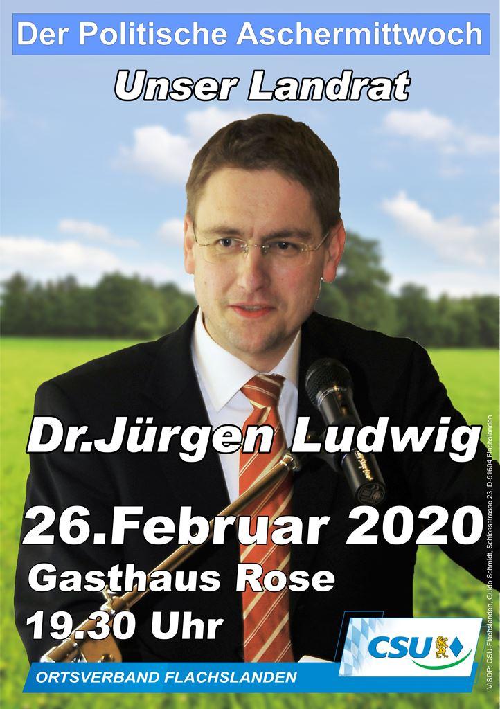 Politischer Aschermittwoch in Flachslanden 2020